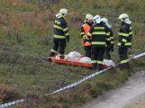 Složky IZS prověřily spolupráci u simulovaného pádu letadla v Brdech (7)