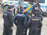 Složky IZS prověřily spolupráci u simulovaného pádu letadla v Brdech (28)