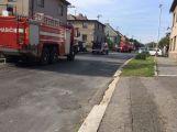 V Březnici se srazil závodní vůz s osobním (7)
