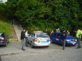 Policisté hledali výbušninu ve vodní elektrárně Kamýk (8)