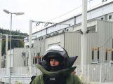 Policisté hledali výbušninu ve vodní elektrárně Kamýk (3)