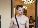 Na módní přehlídce vystoupil i nejkrásnější muž Slovenska ()