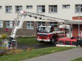 Záchranné složky dnes trénovaly zásah v nemocnici (3)