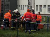 Záchranné složky dnes trénovaly zásah v nemocnici (5)
