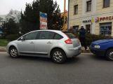 U Obory došlo k drobné dopravní nehodě ()