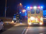 V Husově ulici došlo včera večer k dopravní nehodě ()