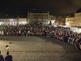 Na svatého Martina se přišlo podívat celé náměstí (1)