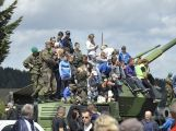 Vojenské kluby si u Slivice připomněly konec války v Evropě (4)