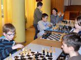 Školní družstva soutěžila v šachu (1)