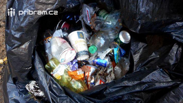 Celkové množství odpadu na ostatních trasách …