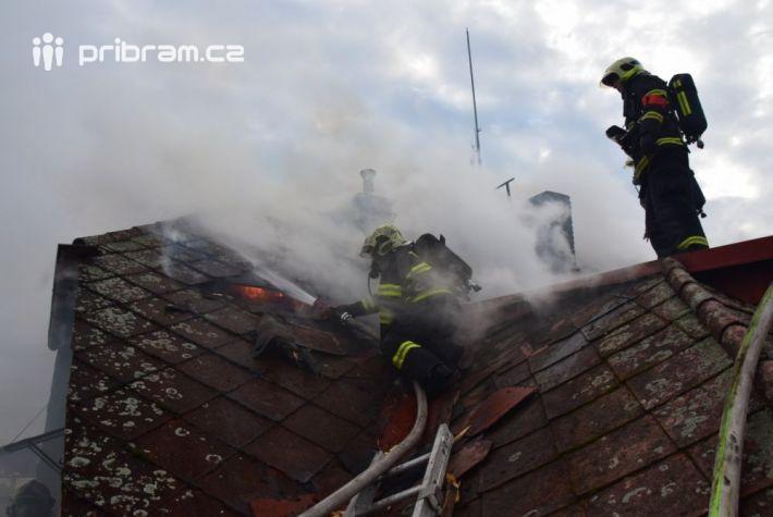 Požár se podařilo lokalizovat až po vyklizení …
