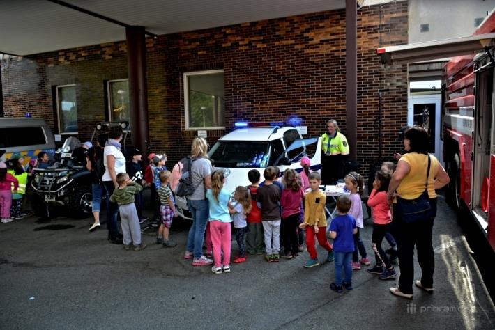 Na pomoc svým kolegům přišla i Městská policie …