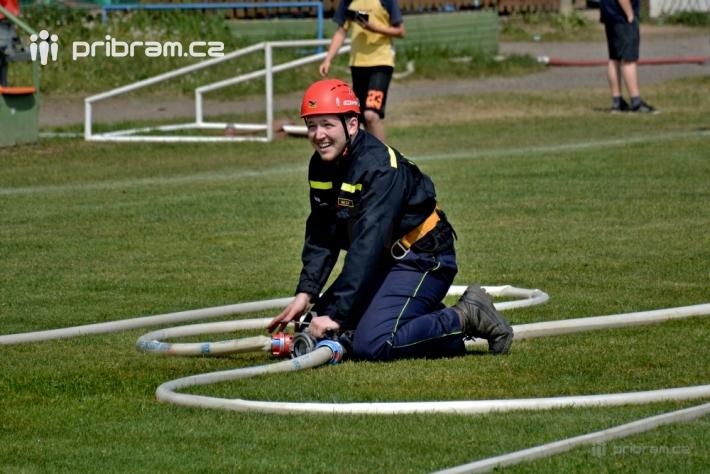 Nedávno jsme psali o hasičské soutěži v …