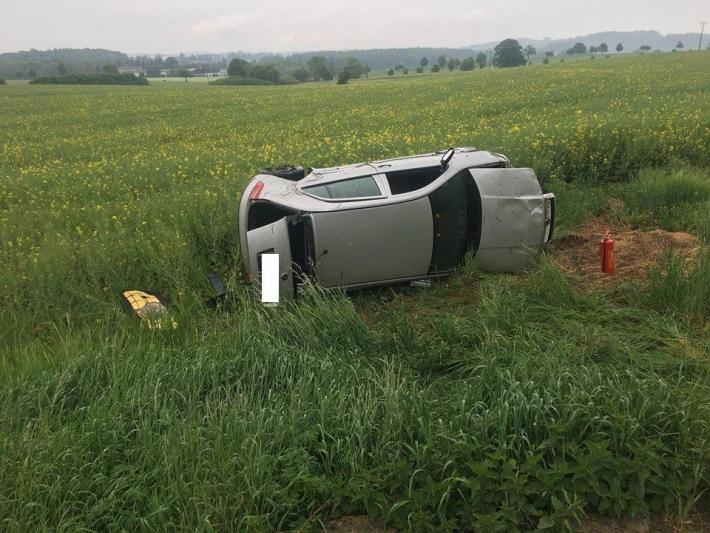 K první dopravní nehodě došlo na silnici 1734 …