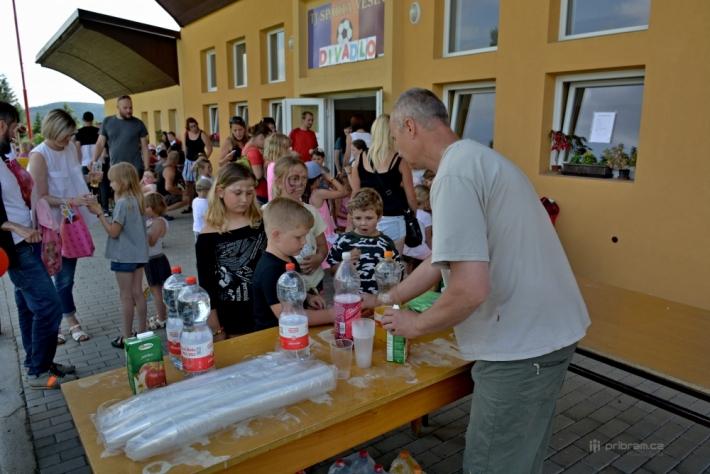 Obec Věšín oslavila tuto neděli v areálu TJ …