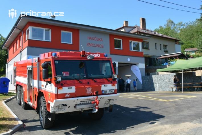 Soleničtí dobrovolní hasiči otevřeli …