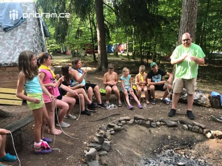 Takový tábor je pro děti od začátku do konce …