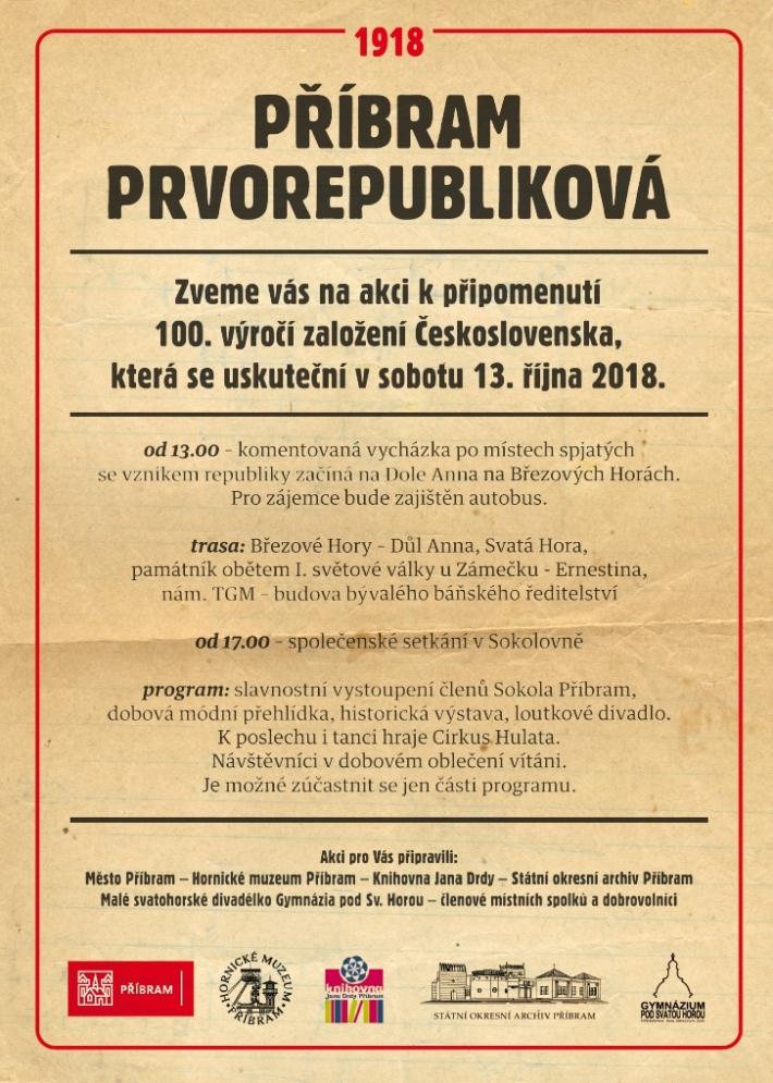 Město Příbram ve spolupráci s Hornickým muzeem …