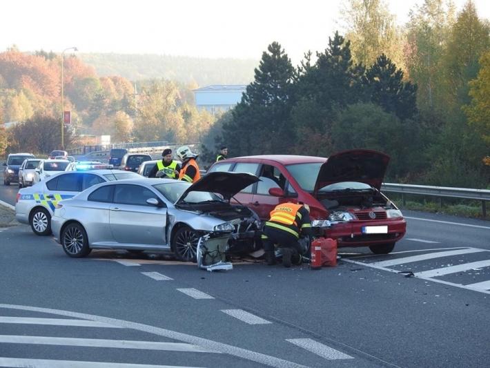 Dopravní kolaps můžete aktuálně zažít, pokud …