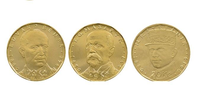 Dnes se do oběhu dostanou nové mince na počest …
