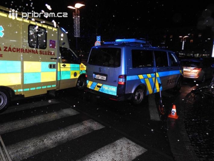 Dopravní nehoda povolala záchranné složky na …