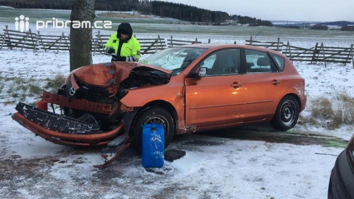 Dopravní nehoda - Kozárovice