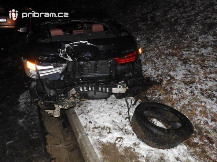 Dopravní nehoda - dálnice D4