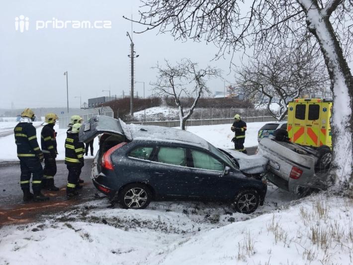 Dopravní nehoda - Jesenice