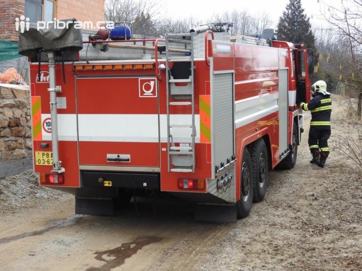 Jednotka profesionálních hasičů z Příbrami …