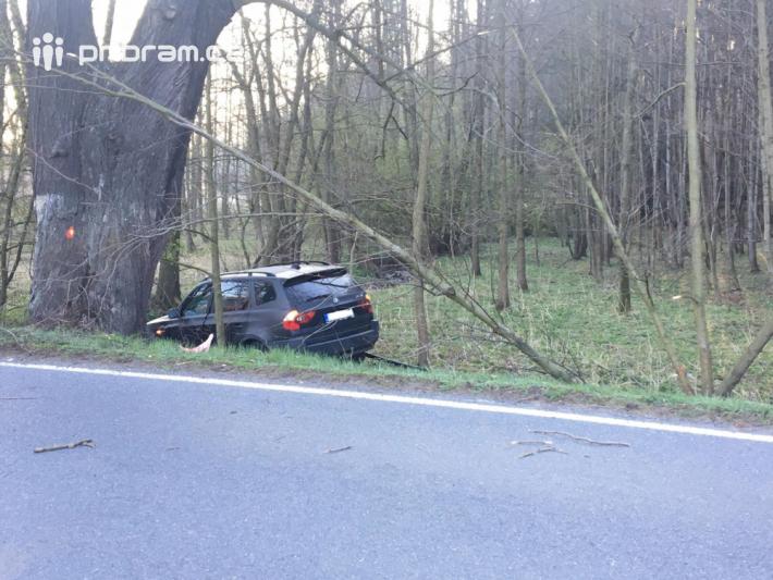 Nehoda osobního vozidla značky BMW momentálně …