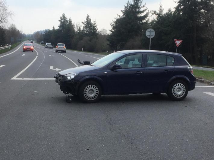 Nedání přednosti v jízdě je pravděpodobně …