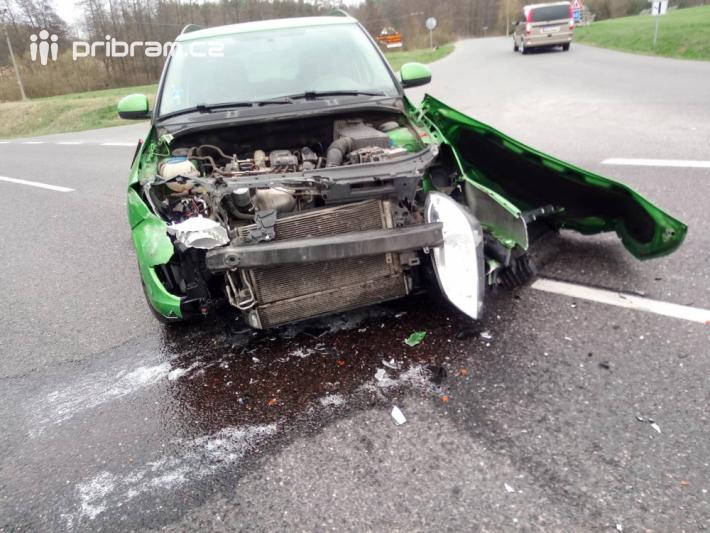 Dopravní nehoda osobního vozidla značky Škoda …