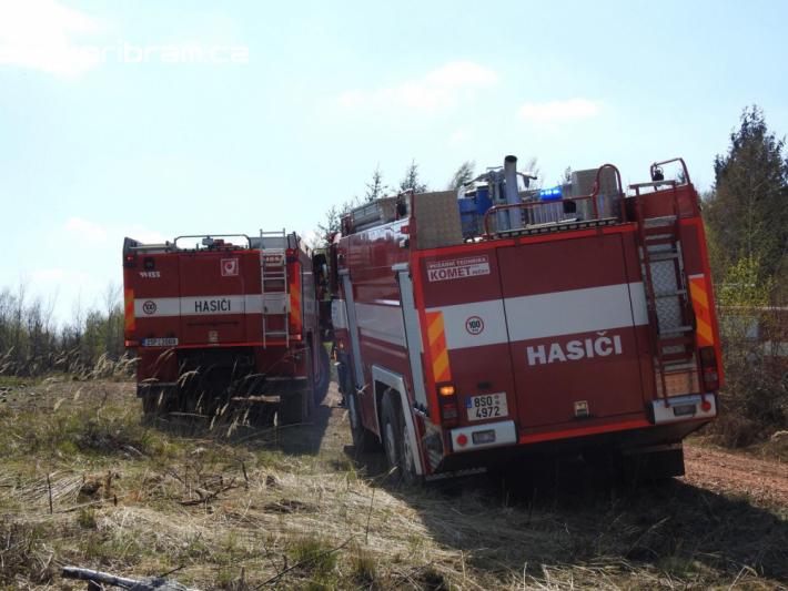 K požáru lesního porostu povolal operační …