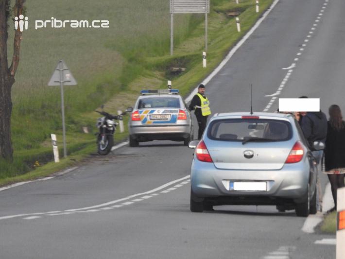 K dopravní nehodě motocyklu s osobním vozidlem …