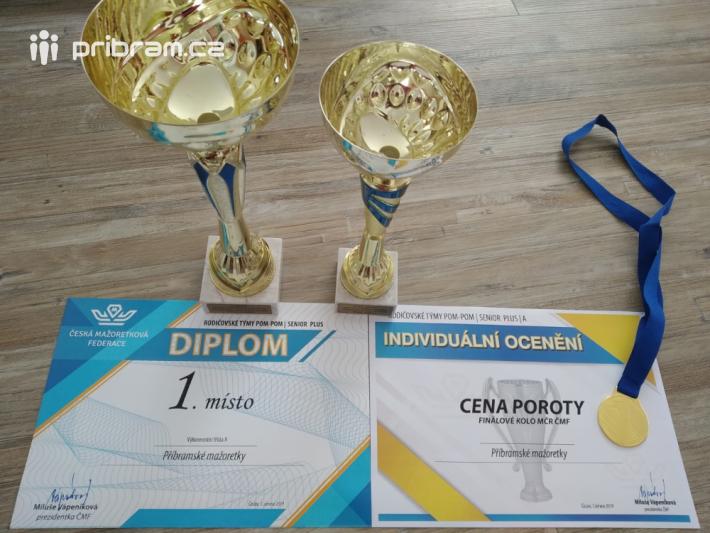 Mistrovství ČR v mažoretkovém sportu …