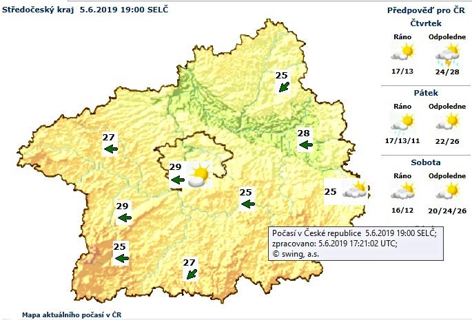 Výstraha meteorologů pro dnešní den vstupuje v …