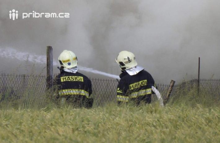 Profesionální jednotky hasičů z Příbrami a …