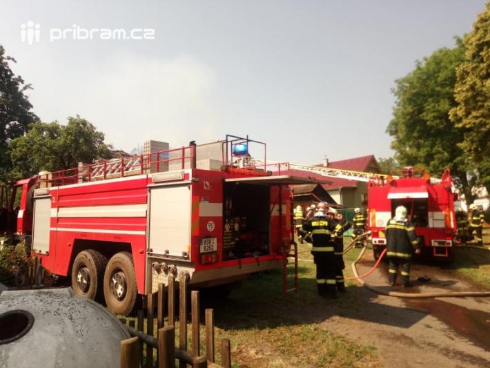 Několik hasičských jednotek zasahovalo dnes …