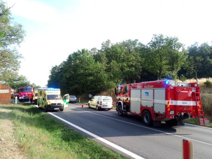 K dopravní nehodě došlo dnes ráno na silnici …