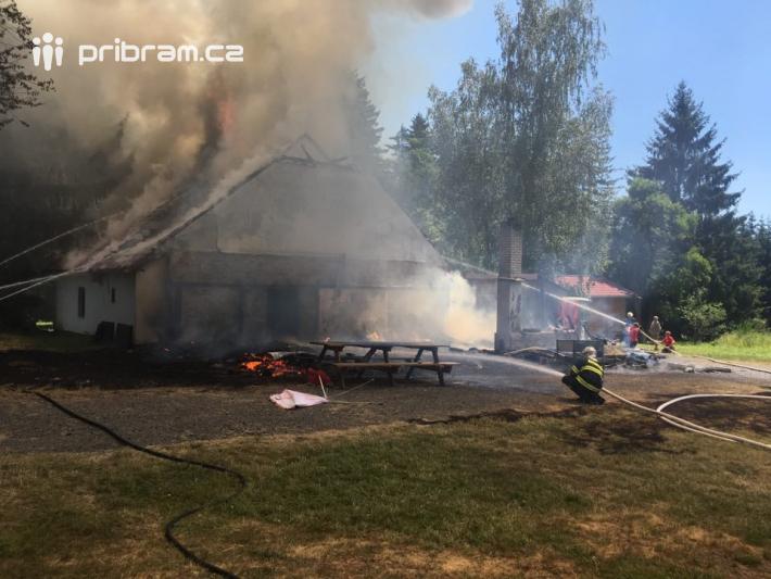 Několik hasičských jednotek momentálně …