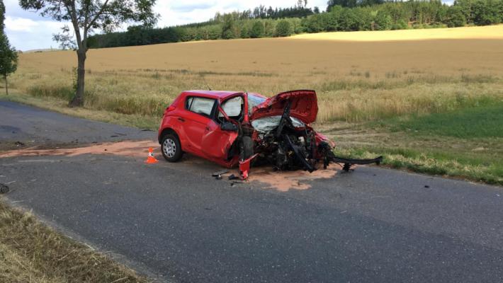 Leteckou pomoc si vyžádala dopravní nehoda na …