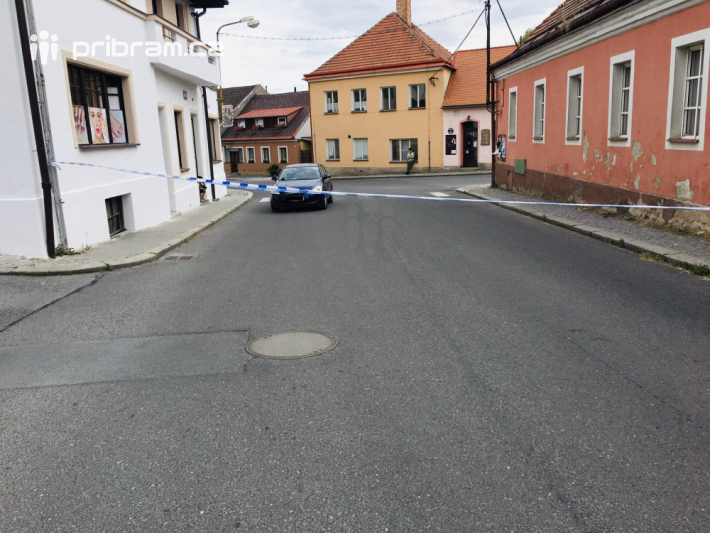 Ulice Palackého v Rožmitále pod Třemšínem je …