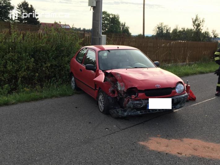 Dopravní nehodu osobního vozidla značky Toyota …