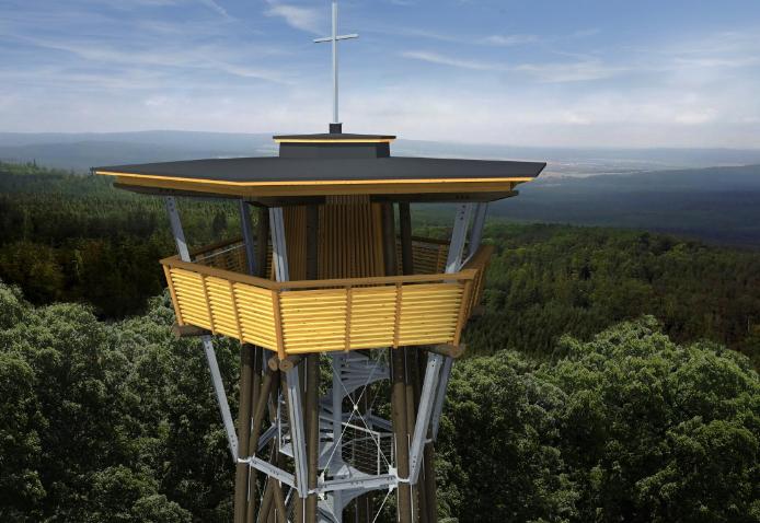 Výškové stavby se na Třemšíně budovaly již od …