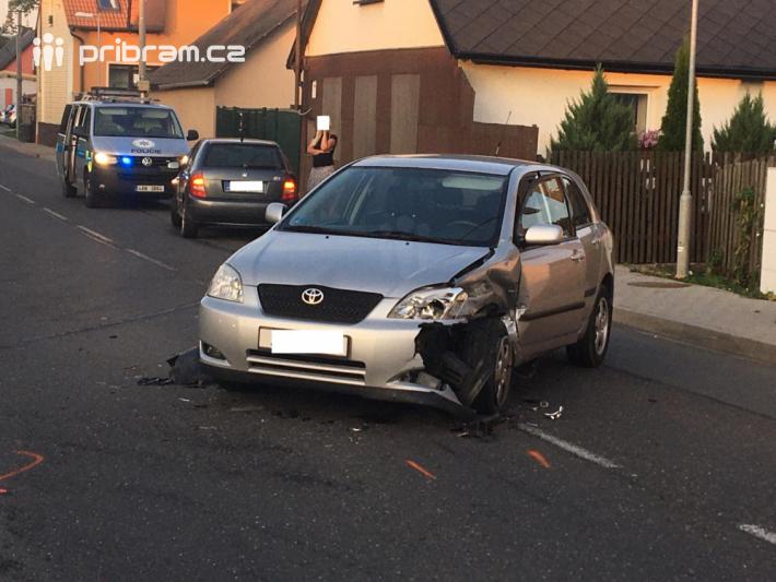 Střet dvou vozidel prošetřují dopravní …