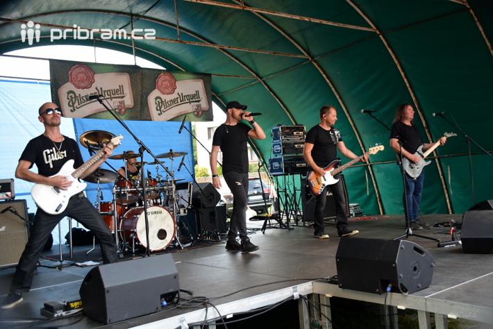 Druhý den Rockfestu v Rožmitále pod Třemšínem …