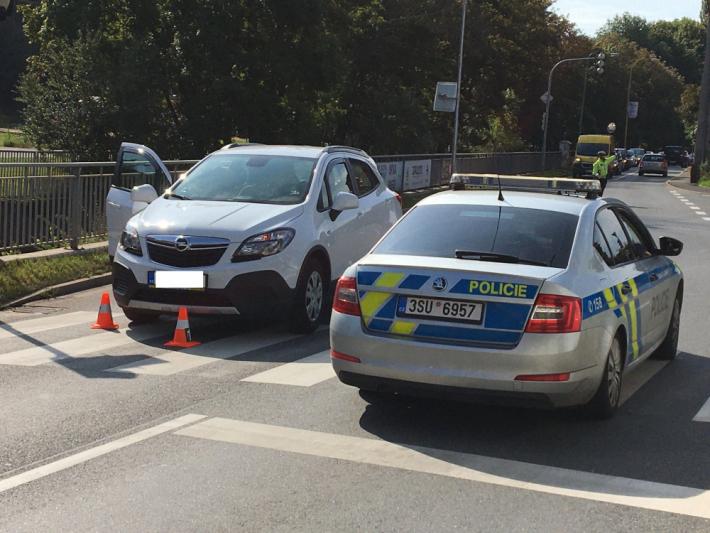 Dopravní nehodu momentálně šetří policisté v …