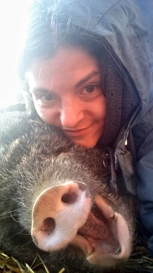 Odmala toužila trávit se zvířaty čas a sdílet …