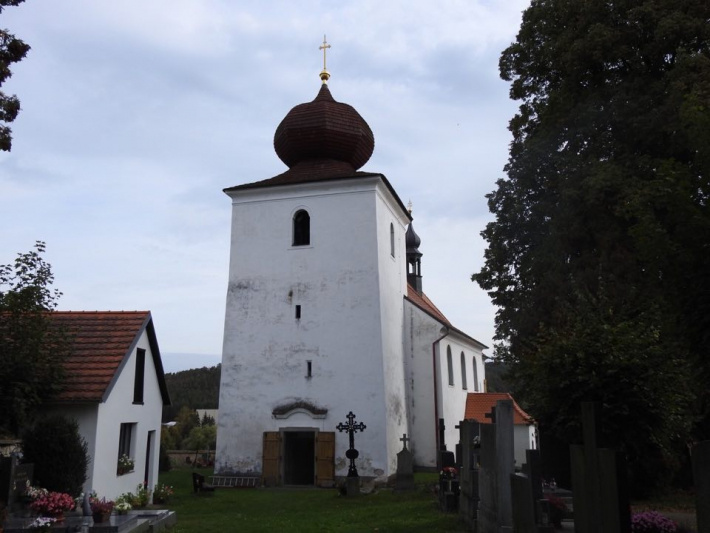 Kostel vKamýku nad Vltavou se dočká …