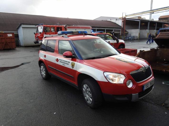 Před osmou hodinou ranní vyjížděli hasiči do …